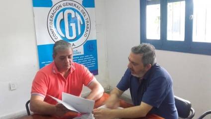 CGT Villa Mercedes se interiorizó de la situación del transporte