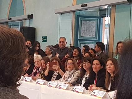 Laura Rodríguez en la IV Cumbre Iberoamericana de Agendas Locales de Género