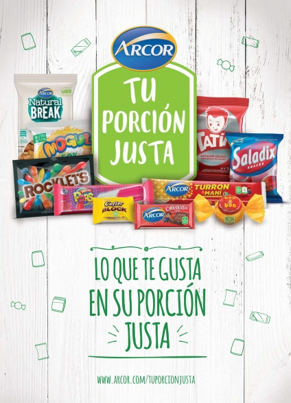 "Grupo Arcor presenta ""Tu Porción Justa"""