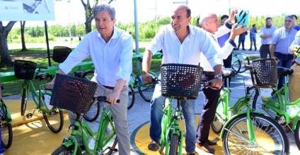 Bicicletas públicas ya son realidad en la capital neuquina