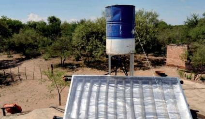 ¿Queres construir tu propio termotanque solar? el INTA te enseña el paso a paso