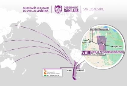 San Luis firmó un convenio con Chile para potenciar el Corredor Bioceánico