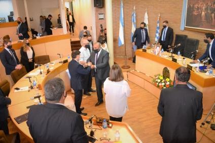 El Intendente Maximiliano Frontera Inauguró el año legislativo