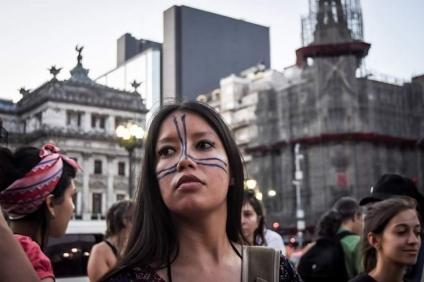 Mujeres indígenas contra el terricidio