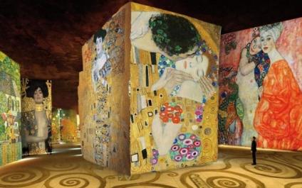 París: una exposición digital inmersiva sobre Gustav Klimt