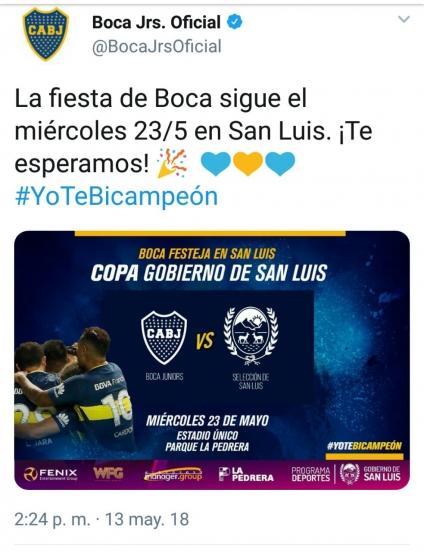 Boca festeja el campeonato en La Pedrera
