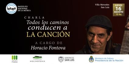 Horacio Fontova dará una charla en Villa Mercedes