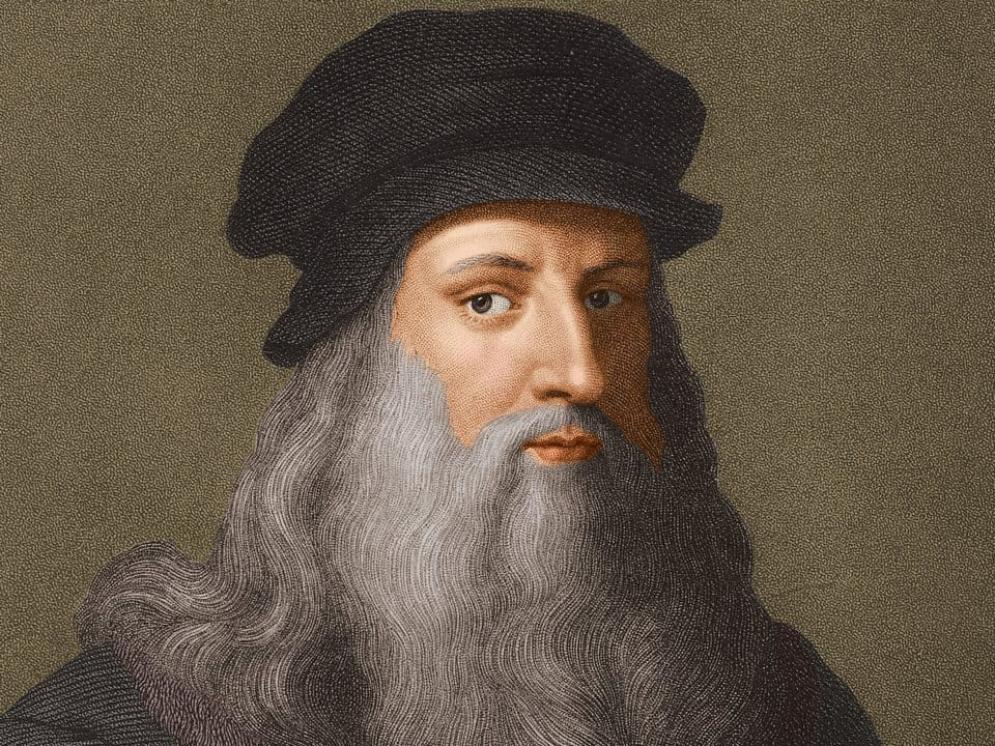 Soy Leonardo da Vinci, invitado del Rey de Francia