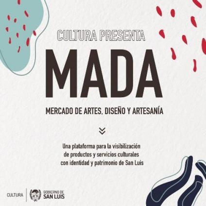 Para conocer productos y servicios culturales: lanzan el Mercado de Artes, Diseño y Artesanías