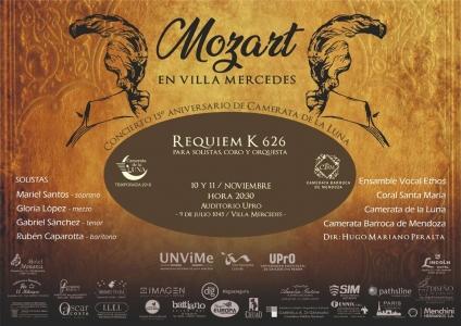 Mozart en Villa Mercedes - 15 años de la Camerata de la Luna